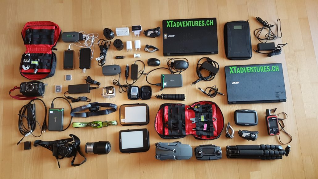 Electronics for Motorbiketrip