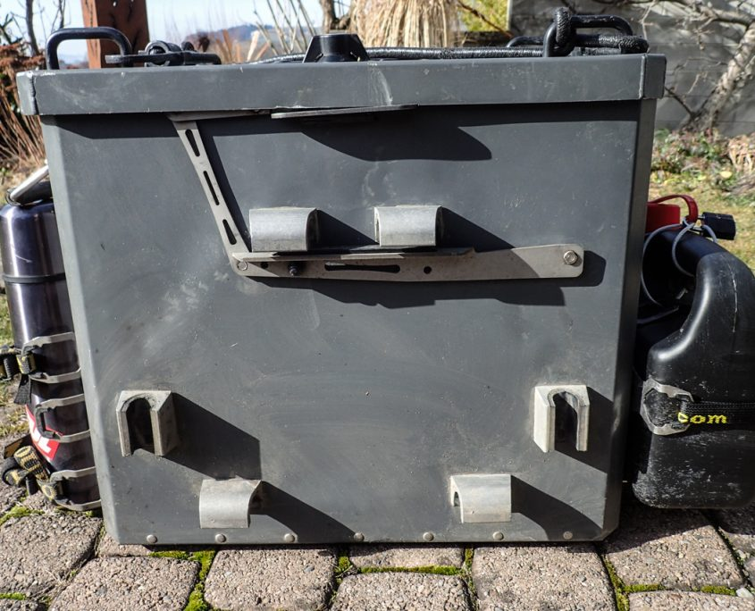Metal Mule pannier