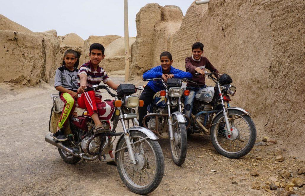 Boys at Ghurtan Fort