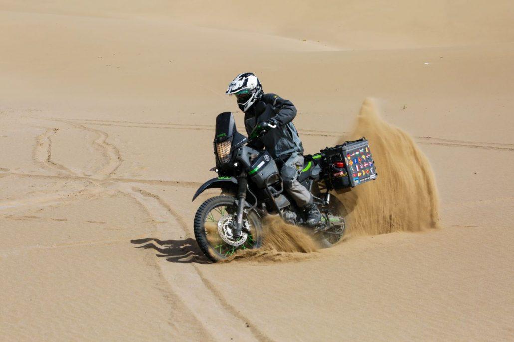 Fun in the desert
