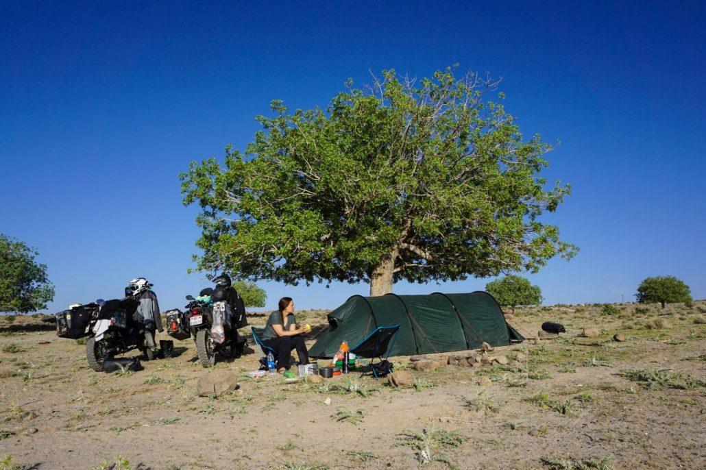 Motorcycle Camping Equipments