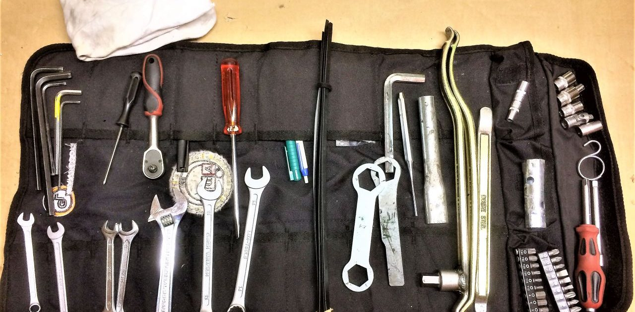 Motorbike Tools for a RTW Trip