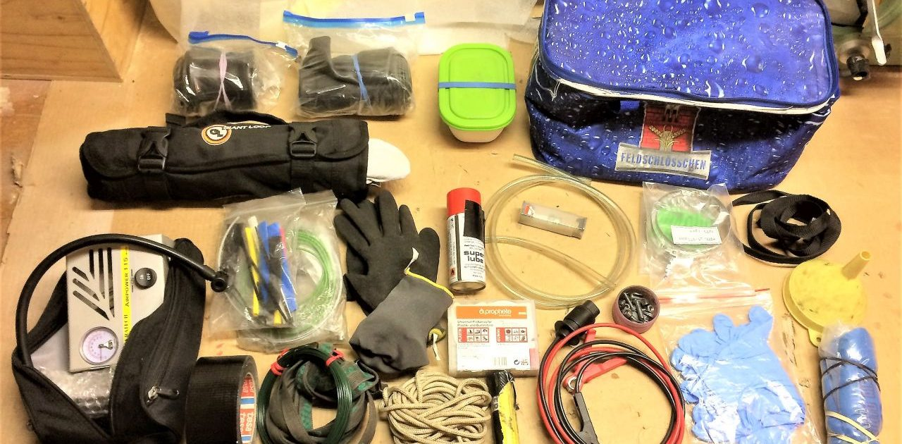 Tools for a rtw trip