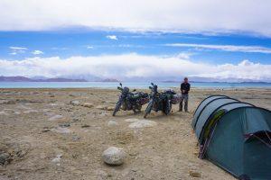 Karakol Lake camp spot