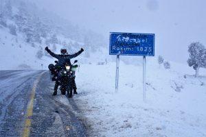 Snow storm in Turkey