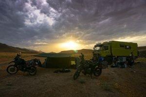 Perfect wild camp spot