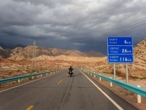 On the road to Kashgar