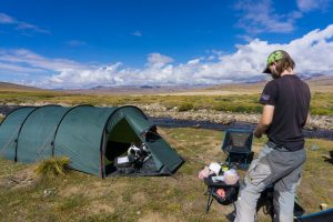 Camping in the Deosai national park