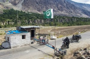 Check point in Gilgit
