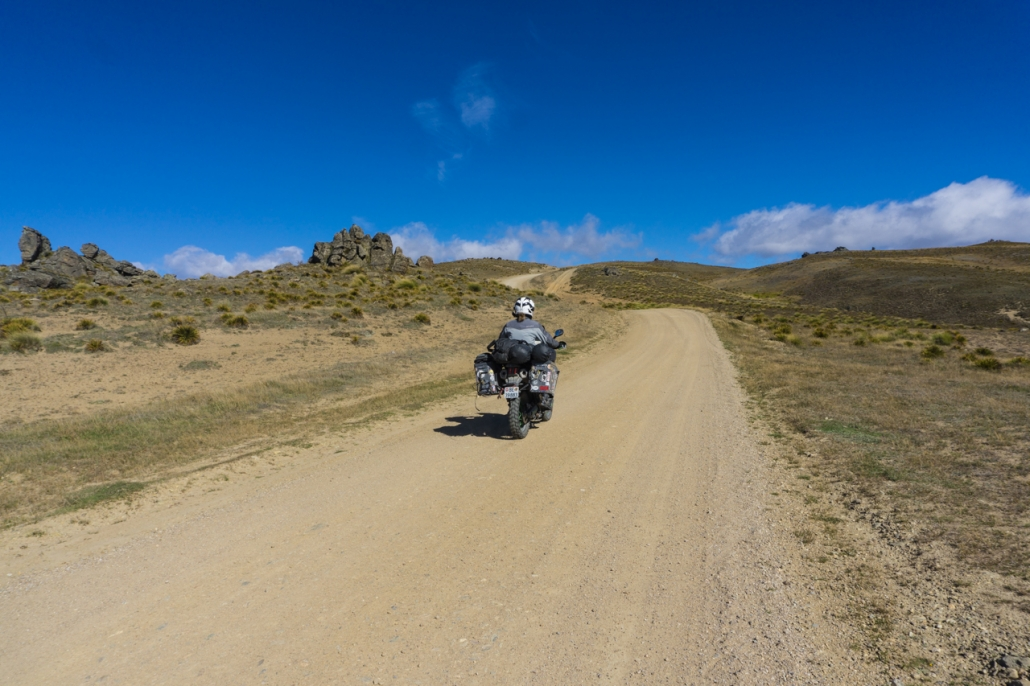 View on top of Sani Pass