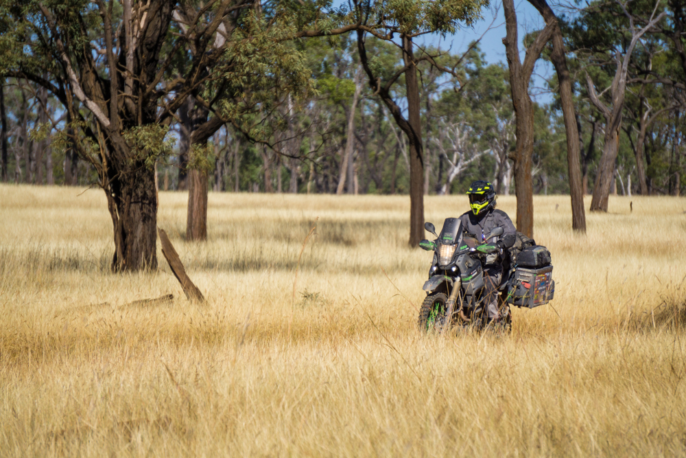 Riding in the Outback