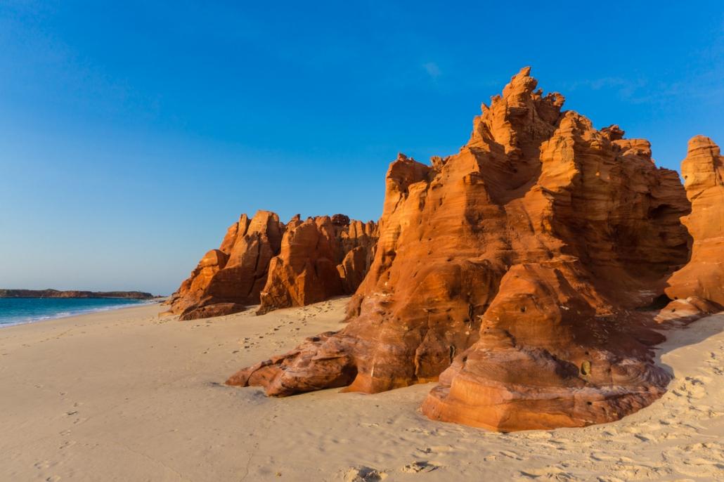 Red Cliffs of Cape Levaque