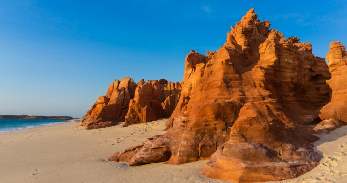 Red Cliffs of Cape Levaque
