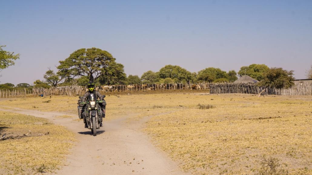 Through some rural villages