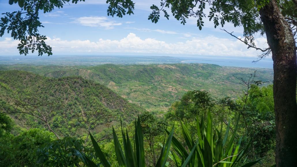 View from Lukwe Farm